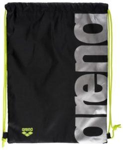 arena-fast-swimbag-50-cierna-strieborna-custom